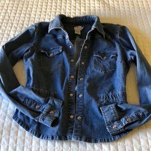 Calvin Klein Jean jacket-Large